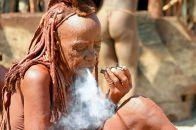 Himba-Frau