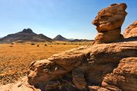 Damaraland Felsformation
